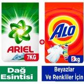 Ariel Matik 7 Kg Dağ Esintisi + Alo Matik 5 Kg Beyaz Ve Renkli
