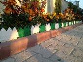 Dekoratif Bahçe Çiti 17 Cm Uznluk X 8 Adet 136 Cm Toplam Uzunluk