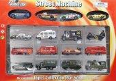 1. Sınıf Metal Ve Plastik Malzeme Dıe Cast 16lı Oyuncak Araba