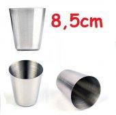 Orijinal Paslanmaz Çelik Su Bardağı 8,5x6,7cm (1 Adet)