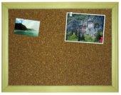45x60 Ahşap Mantar Pano (Harita Çivisi Hediye)
