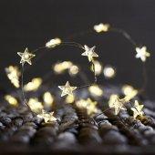 2 3 4 5 10 Metre Yıldız Peri Led Pilli Tel Led Işık Yıldız Led