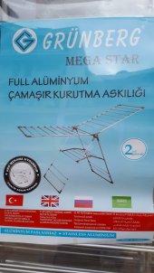 çamaşır Kurutma Askılığı Full Alüminyum 21 Metre Mega