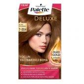 Palette Deluxe 7 554 Altin Karamel Sac Boyası