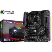 Msı H270 Gaming Pro Carbon Intel H270 2400mhz Ddr4 Soket 1151 Atx