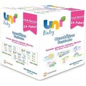 Uni Baby Oyna Öğren Islak Mendil 24lü Fırsat Paketi 52x24 (1248 Yaprak)