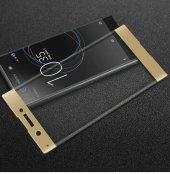 Sony Xperia X Tam Kapatan Kavisli 3d Cam Altın