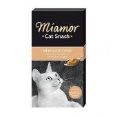 Miamor Cream Ciğerli Kedi Tamalayıcı Ek Besin Ve Ödülü 6 X15 Gr