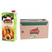 Meyöz Kayısı Meyvesuyu 1 Lt (12 Adet)