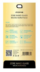 General Mobile 5 Plus Zore Nano Micro Temperli Ekran Koruyucu