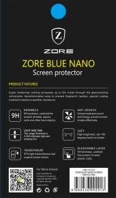 Lg G3 Zore Blue Nano Screen Protector