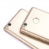 Xiaomi Redmi 3s Ultra İnce Silikon Kapak Kılıf Arka Koruma 0.2 Mm