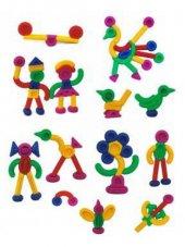 Eğitici Soft Akrobatik Figürler 160 Parça Parça Birleştirme