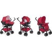 Chicco Trio Sprint Travel Sistem Bebek Arabası Red...