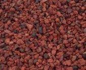 Pomza Taşı 40 Litre Kırmızı Toz Lav Taşı Volkanik Cüruf Tüf Dekoratif Tarım Veakvaryum Taşı