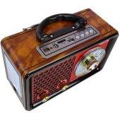 Nıkula Star Radyo Bluetooth Usb Mp3 Sd Fenerli Müzik Çalar