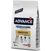 Advance Adult Sterilised Sensitive Somonlu Kısırlaştırılmış Yetişkin Kuru Kedi Maması 3 Kg