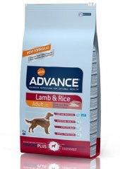 Advance Lamb Kuzu Etli Tüm Irklar İçin Köpek Maması 12 Kg