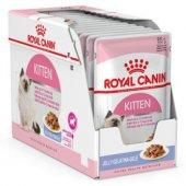 Royal Canin Jelly Instinctive Yaş Yavru Kedi Maması 85 Gr 12 Ad