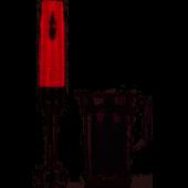 Korkmaz A444 04 Vertex Duo Blender Set Inox Kırmızı