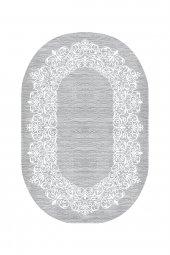 Passion 1811 Cm 120x180cm Oval Gri Kaydırmaz Halı