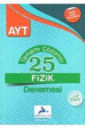 Paraf Yayınları Ayt Çözümlü 25 Fizik Denemesi