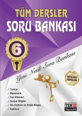 Tekiz Tüm Dersler Soru Bankası 6. Sınıf