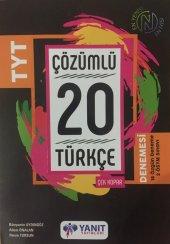 Yanıt Yayınları Yks Tyt Çözümlü 20 Türkçe Branş Denemesi