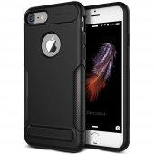 Vrs Design İphone 8 7 New Carbon Fit Kılıf Black