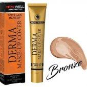 New Well Fondöten Cover Make Up 02 Bronze
