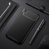 Edelfalke Apple İphone Xr 6.1 Negro Silikon Kılıf Siyah