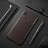 Edelfalke Huawei Honor Play Negro Silikon Kılıf Kahverengi