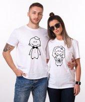 Tshirthane Gelin Damat Sevgili Kombini Tişörtleri