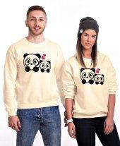 Tshirthane Sevimli Pandalar Sevgili Kombinleri Sweatshirt