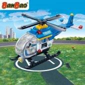 Banbao 122 Parça Polis Lego
