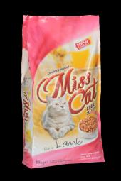 Miss Cat Kuzu Etli Yetişkin Kedi Maması 15 Kg + Mırmır Kedi Kumu