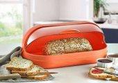 Ekmeklik Ekmek Sepeti Qlux Tom Tom Kapaklı Ekmek Sepeti Plastik