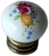 Porselen Eskitme Düğme Dolap Mobilya Kulpu G359