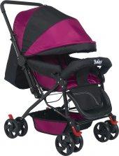 Baby Pembe Bebek Arabası Tam Yatarlı Bebek Arabası