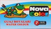 Nova Color Nc 101 Guaj Boya 7 Renk Tüp
