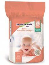 Fresh&primen Soft Bebek Temizleme Pamuğu 60&primelik Dikdörtgen