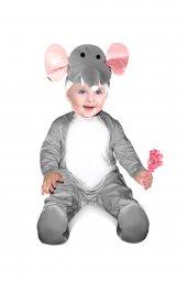 Fil Kostümü Bebek Kıyafeti