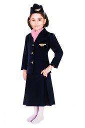 Hostes Kostümü Çocuk Kıyafeti