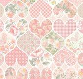 Floral Collection 5107 Patchwork Duvar Kağıdı