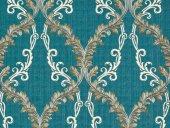 Via Della Seta M5644 Klasik Damask Desenli İtalyan Duvar Kağıdı