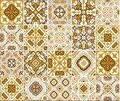 Elemental 42013 3 Çini Görünümlü Duvar Kağıdı