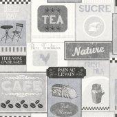 Blue Velvet Mix 518429 Mutfak Duvar Kağıdı