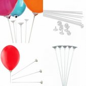 Balon Çubuğu 100 Adet 1.kalite Aynı Gün Kargo