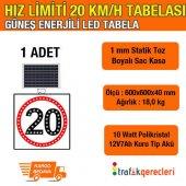 Hız Limiti 20 Km H 600x600mm Led (1 Adet)