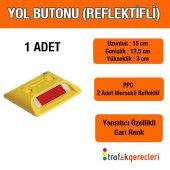 Yol Butonu (Reflektifli) 1 Adet